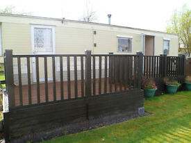 static caravan for sale 28ft by 10ft £5775