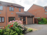 Stuckley Meadowws: 3 Bedroom semi-detached house with garage and off-road parking