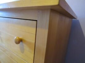 URGENT Ten Drawer Solid Pine Chest of Drawers