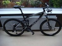 Ghost RT Lector 5700 Full Suspension MTB Carbon 52cm L Mountain Bike 26in PURLEY