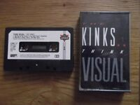 Pre-recorded cassette by The Kinks - Think Visual