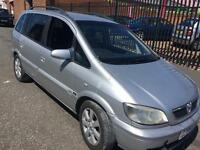 Vauxhall zafira 2.0 dti 2005 7 Seater breaking for parts all parts available