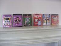 (6) CHILDRENS INTERACTIVE TV / DVD GAMES £10.00