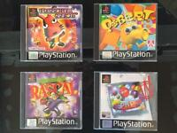 4 x Sony PlayStation One / PS1 Games