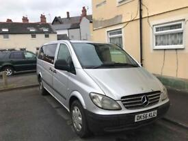56 plate Mercedes-Benz vito 111 Cdi. 9 seaters family vehicle