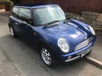 Mini one 2003 in blue alloys