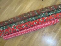 4 Rolls of Christmas Sewing Fabric