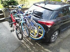 Towbar Bike Carriers (carry1,2,3,4,or more BIKES on any TOWBAR)