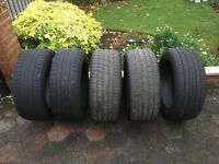 5 x 245/35/18 Tyres For Sale