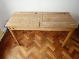 Traditional Double Children's Desk