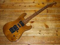 Custom Exotic wood S type guitar with Kahler tremolo