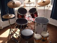Drum Kit, Olympic by Premier with accesories