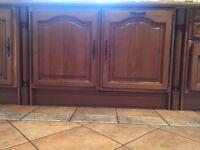 Oak kitchen for sale £450