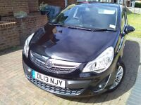 Vauxhall Corsa SE 1.4 5 Door Black 2013