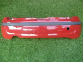 FIAT PANDA REAR BUMPER IN RED OFF 2010 MODEL