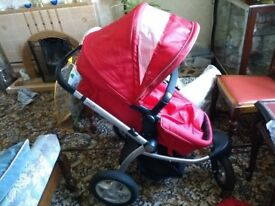 "Mothercare ""My 3"" Stroller - suitable from birth to approx age3."
