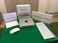 Apple Mac Mini bundle complete with Mouse, Trackpad 2 and Keyboard 2