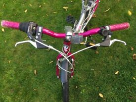 Girls 19 inch 6 speed Bike