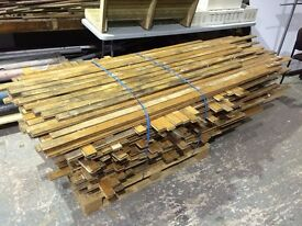 Salvaged Maple Hardwood Strip Flooring - Heavy Duty Reclaimed Canadian Muskoka Red Deer Maple Floor