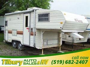1985 Fleetwood Terry 18 FIFTH-WHEEL **AS IS**