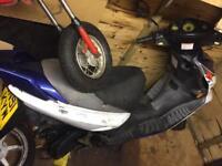 Suzuki Katana 50cc breaking