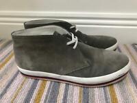 Men's grey suede Prada boots size 6.5uk