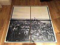 Beautiful 4 Piece New York Canvas - FREE LOCAL DELIVERY