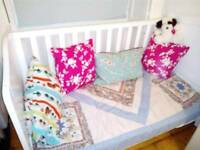 Mothercare Addington white cot bed in good condition