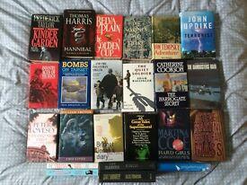 Collection of 23 Hardback books