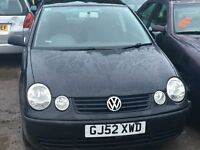 2002 VOLKSWAGEN POLO SE (MANUAL PETROL