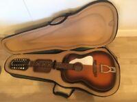 Vintage 'Eko Ranchero' 12 String Guitar