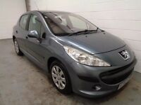 PEUGEOT 207 , 2007/57 REG , LONG MOT , LOTS SPENT RECENTLY , FINANCE AVAILABLE, WARRANTY, IMMACULATE
