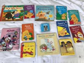 C book bundle with spot the dog books