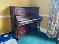 Piano free to a good home.