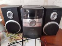 phillips stereo system