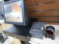 Posligne Epos till system for restaurant, cafe, offlicence, shop. Cash till register.