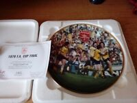 DANBURY MINT ARSENAL FOOTBALL PLATES - 7 TO CHOOSE FROM