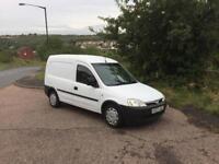 Vauxhall combo van 2003 - petrol / lpg ( very economical to run ).