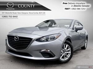 2014 Mazda 3 Sport $57/WK+TAX! GS! AUTO! ONE OWNER! LOW KMS!!! $