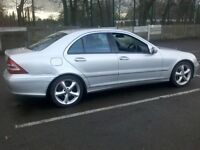 Mercedes-Benz C180 kompressor 2004 ( spares or repair )
