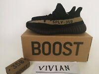 Adidas Yeezy green Boost 350 V2 Real Boost Core Limited 3~12