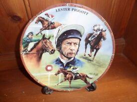 Lester Piggott Collectors Plater