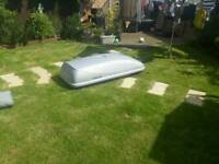 Genuine volvo roof box and roof bars