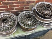 S type jag spoke wheels