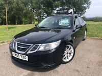 2008 08 SAAB 9-3 1.9 *DIESEL* - 2 KEEPERS FROM NEW - *MARCH 2019 M.O.T* - HALF LEATHER INTERIOR!