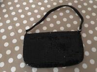 Wallis black evening bag