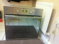 HOTPOINT STAINLESS STEEL IN BUILT OVEN / FAN ASSISTED / £ 55