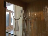 Novelty wines glasses