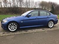 Blue BMW 320i - Long Mot