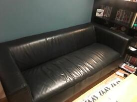 Leather effect Sofa